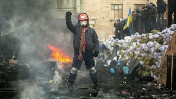 Representante de la oposición en Kiev, Ucrania (archivo) - Sputnik Mundo