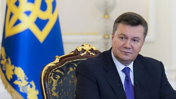 Víctor Yanukovich, expresidente de Ucrania - Sputnik Mundo
