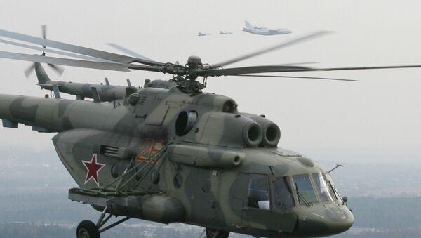 EL helicóptero Mi-17 - Sputnik Mundo