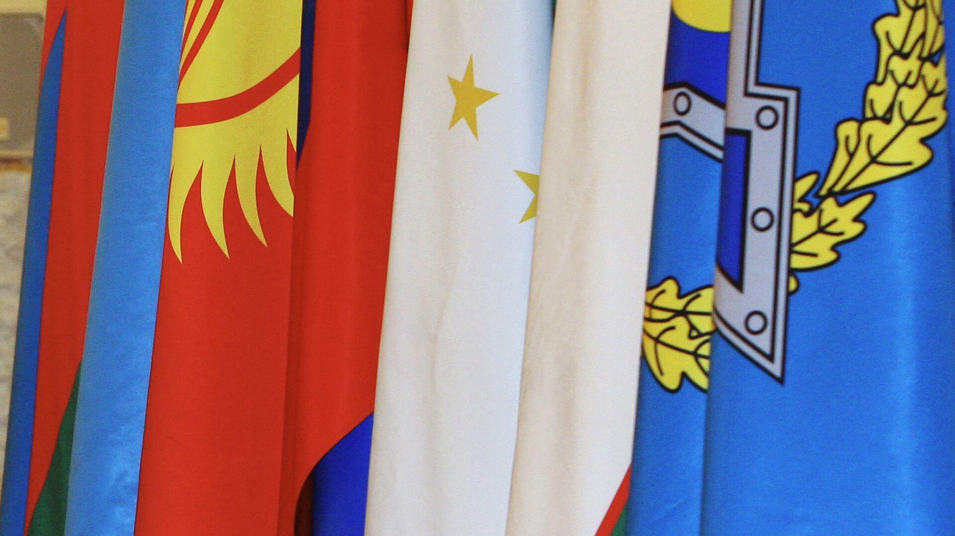 Флаги стран-участников ОДКБ - Sputnik Mundo, 1920, 29.04.2021