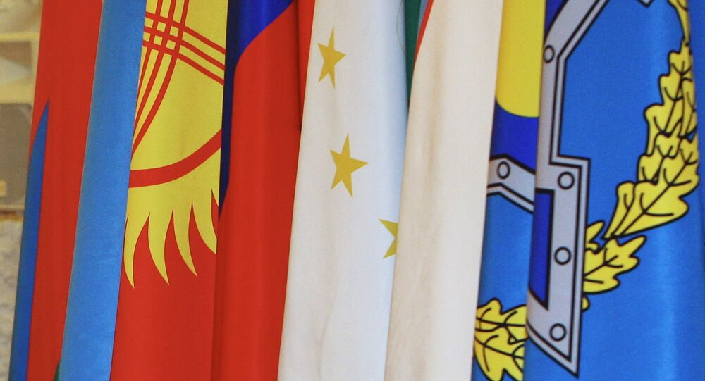 Banderas de los países-miembros de OTSC