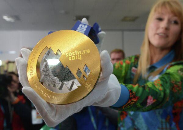 Las medallas olímpicas llegan a Sochi - Sputnik Mundo