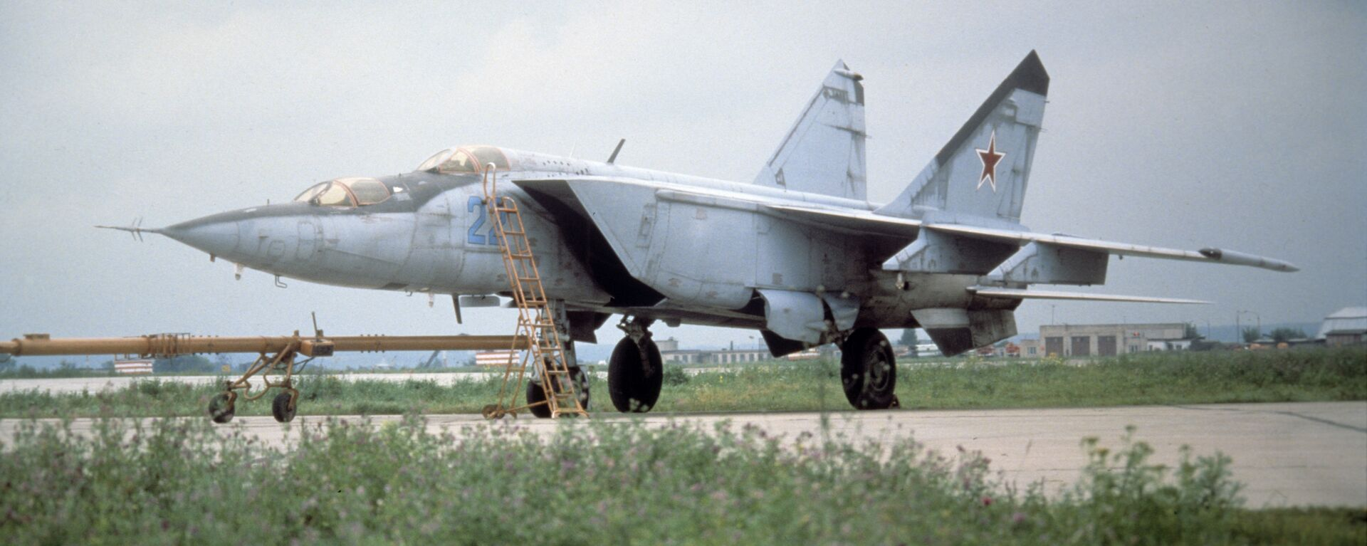 MiG-25, caza soviético (archivo) - Sputnik Mundo, 1920, 28.06.2018