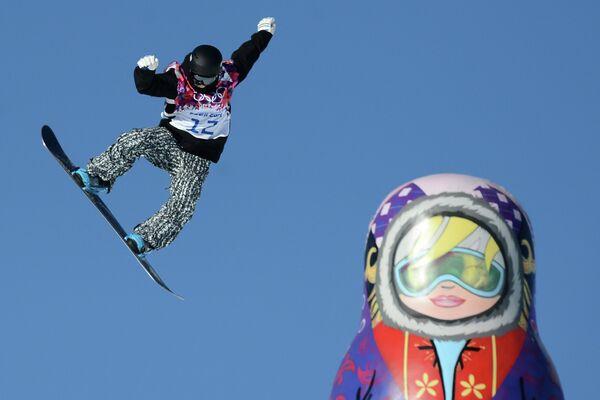 Las clasificatorias de snowboard abren las competiciones oficiales en Sochi - Sputnik Mundo