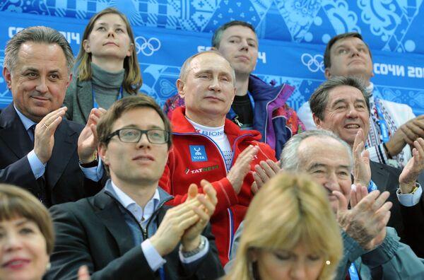 Putin participará en la clausura de los JJOO de Sochi y acudirá a los Paralímpicos - Sputnik Mundo
