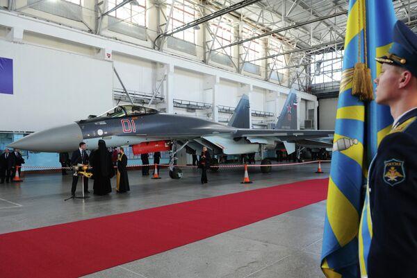 Rusia ensayará sus cazas Su-35S - Sputnik Mundo