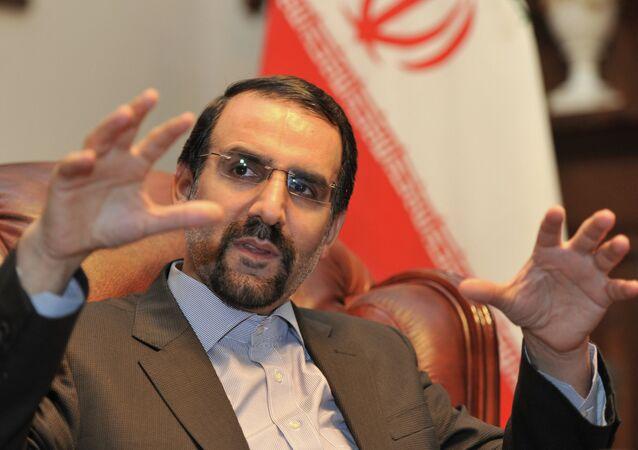 Mehdi Sanai, embajador de Irán en Rusia (archivo)