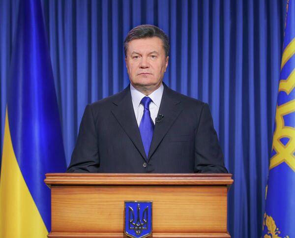 Presidente de Ucrania Víctor Yanukóvich - Sputnik Mundo