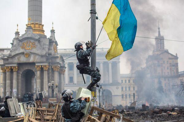 EEUU y la UE intentaron llevar a cabo en Ucrania una nueva revolución de color - Sputnik Mundo