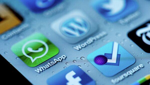 Aplicación de mensajería instantánea Whatsapp - Sputnik Mundo