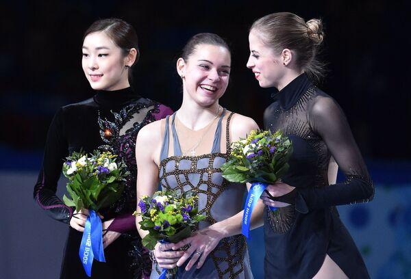 Las estrellas del patinaje artístico femenino - Sputnik Mundo
