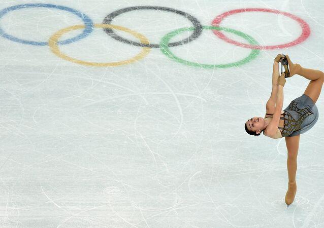 La campeona olímpica rusa Adelina Sótnikova