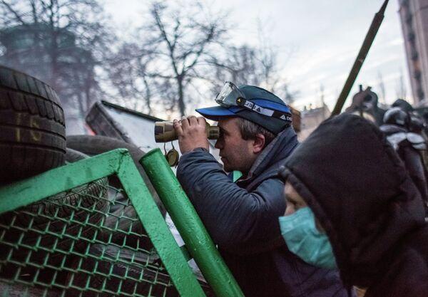 Disturbios en Kiev - Sputnik Mundo
