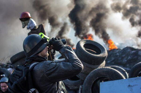 Actos de protesta en Kiev - Sputnik Mundo