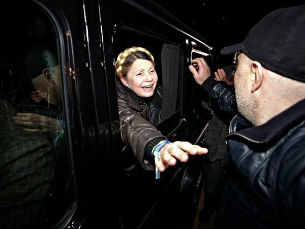 El jefe de la Comisión Europea saluda la excarcelación de Yulia Timoshenko - Sputnik Mundo