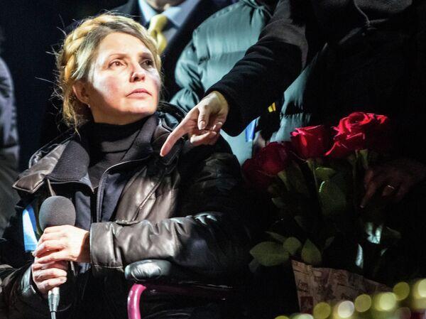 Ex primera ministra de Ucrania Yulia Timoshenko en Kiev - Sputnik Mundo