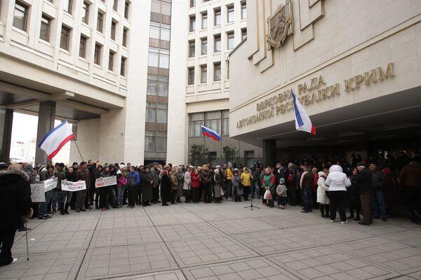 Crimea convoca un referéndum para el 25 de mayo - Sputnik Mundo