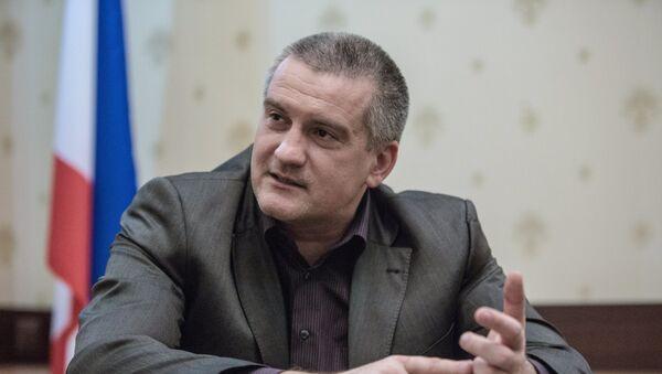Serguéi Aksiónov, político ruso, líder de la República de Crimea - Sputnik Mundo