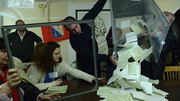 Referéndum de Crimea - Sputnik Mundo