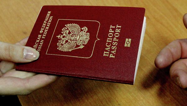 Pasaporte biométrico ruso (archivo) - Sputnik Mundo