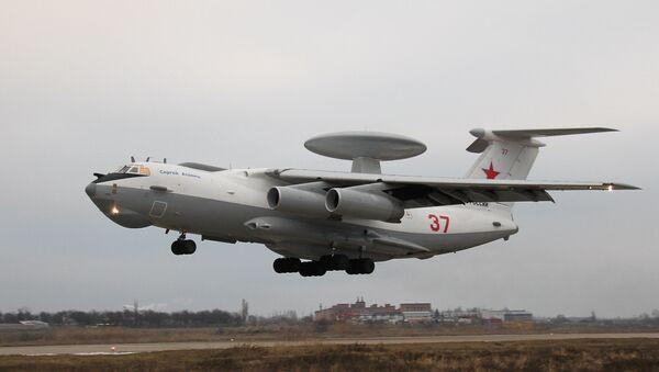 Модернизированный самолет дальнего радиолокационного обнаружения А-50У - Sputnik Mundo