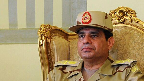 Abdelfatah al-Sisi, presidente de Egipto - Sputnik Mundo