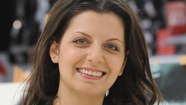 Margarita Simonyán, redactora jefe de cadena rusa RT - Sputnik Mundo