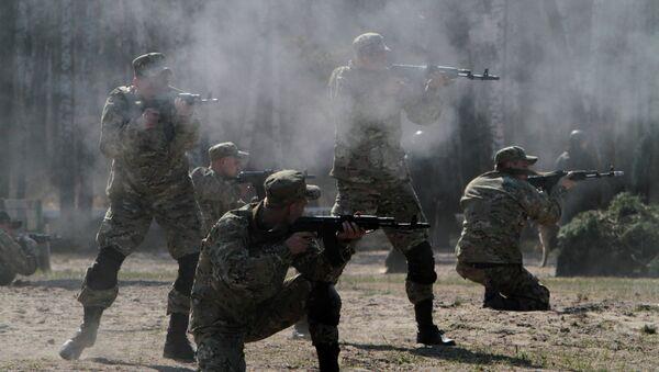 Militares de la Guardia Nacional de Ucrania - Sputnik Mundo