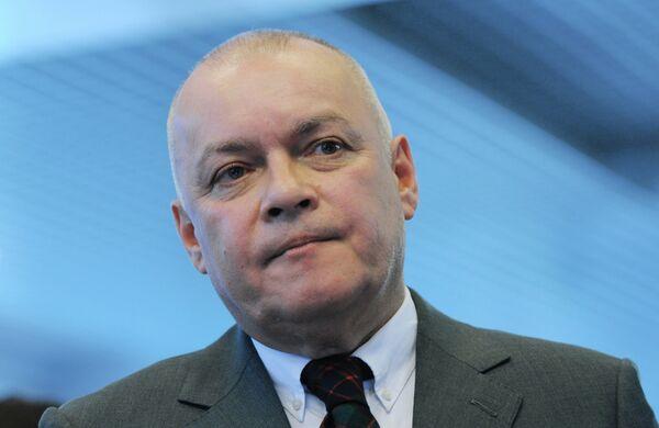 Dmitri Kiseliov, director general de la agencia Rossiya Segodnia - Sputnik Mundo
