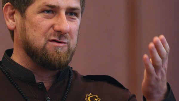 Глава Чеченской Республики Рамзан Кадыров - Sputnik Mundo