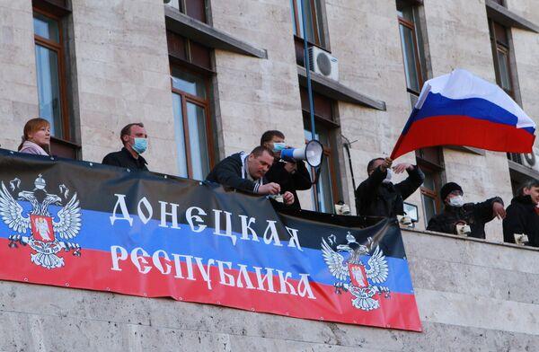 La Asamblea Popular de Donetsk insta a introducir en la región fuerzas de paz rusas - Sputnik Mundo