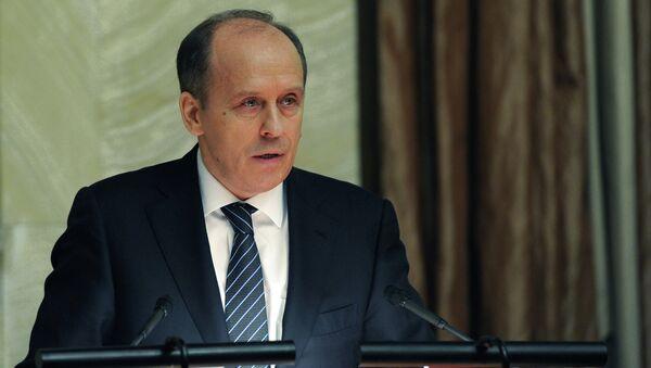 Alexandr Bórtnikov, director del FSB - Sputnik Mundo
