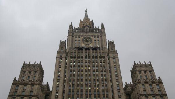 El Ministerio de Exteriores de Rusia - Sputnik Mundo