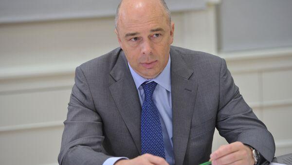 El titular ruso de Finanzas, Antón Siluánov - Sputnik Mundo