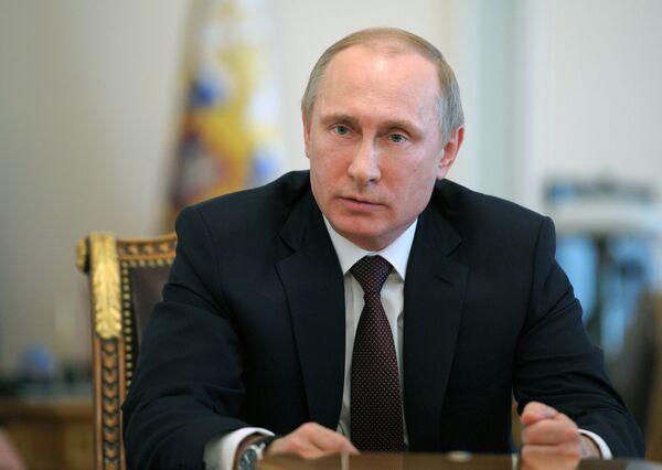 Presidente ruso, Vladímir Putin - Sputnik Mundo