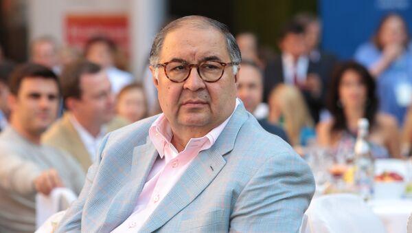 Alisher Usmánov, empresario - Sputnik Mundo