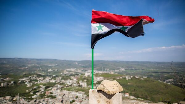 Bandera siria (archivo) - Sputnik Mundo