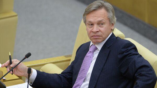 Alexéi Pushkov, presidente del Comité de Asuntos Internacionales de la Duma de Estado - Sputnik Mundo