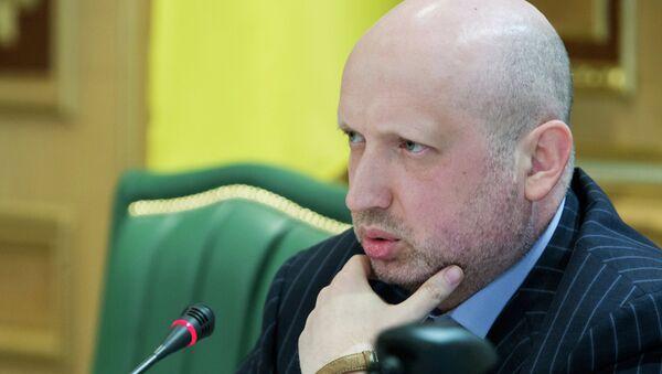 Alexandr Turchínov, exsecretario del Consejo de Seguridad Nacional y Defensa de Ucrania (archivo) - Sputnik Mundo