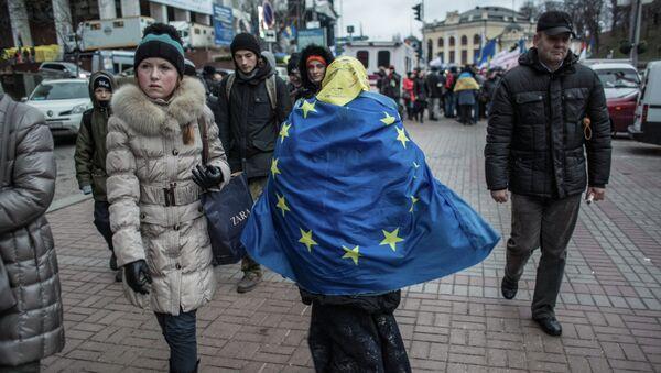Asociación con la UE amenaza con un colapso industrial de Ucrania - Sputnik Mundo