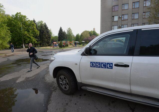 Delegación de la OSCE, en epicentro de un ataque de mortero de Kiev