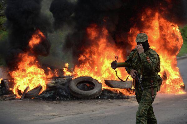 Al menos 10 muertos del lado de las milicias en Slaviansk - Sputnik Mundo