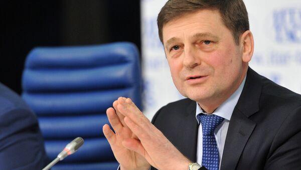 Oleg Ostápenko, jefe de Roscosmos - Sputnik Mundo