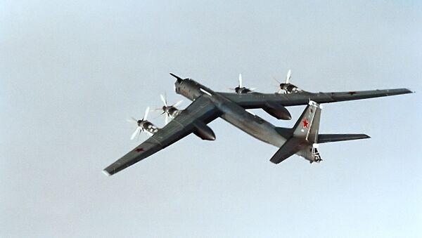 Bombardero ruso Tu-95 - Sputnik Mundo
