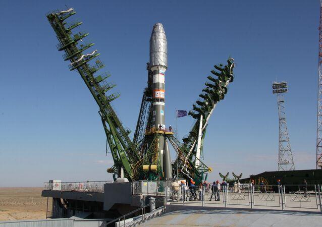 Cohete Soyuz 2.1a (archivo)