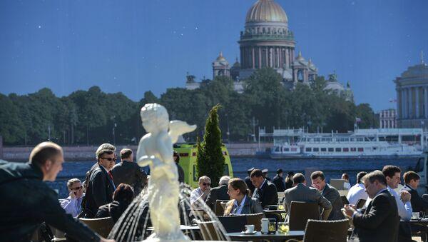 Foro Económico Internacional de San Petersburgo (archivo) - Sputnik Mundo