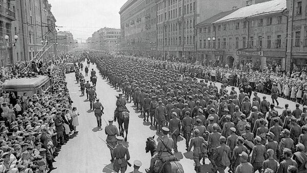 Prisioneros de guerra alemanes en Moscú - Sputnik Mundo