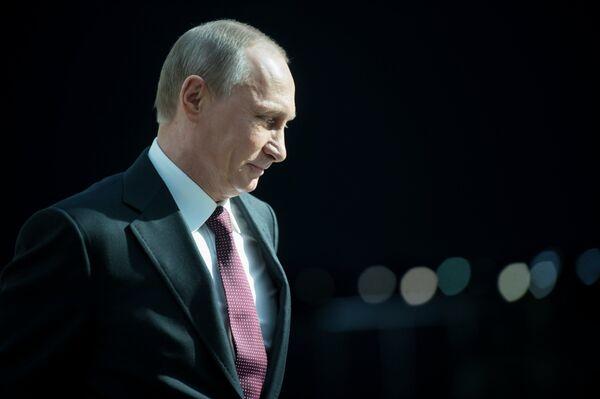 El presidente de Rusia Vladímir Putin - Sputnik Mundo