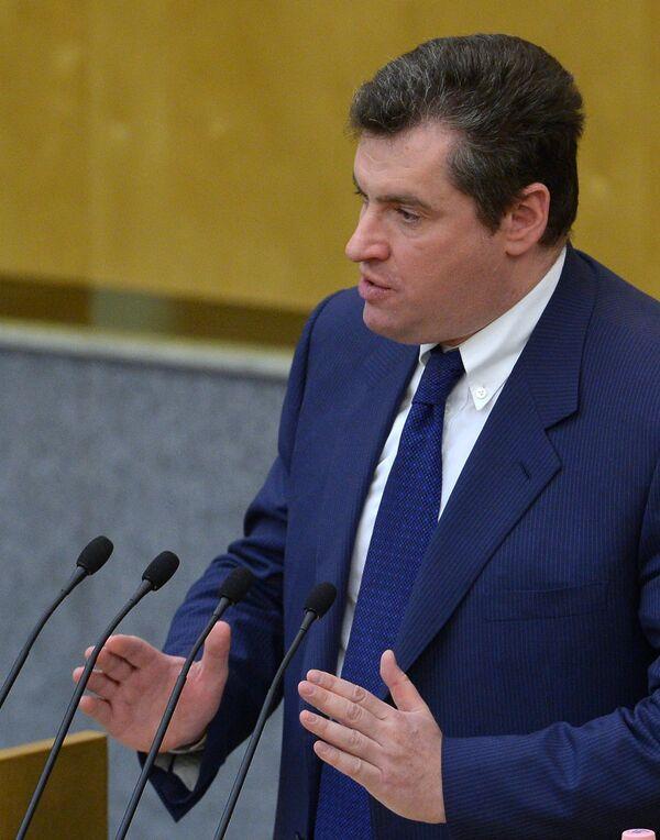 Leonid Slutski - Sputnik Mundo