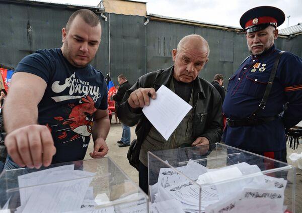 Referendos en el este de Ucrania prueban el afán independentista de su población - Sputnik Mundo